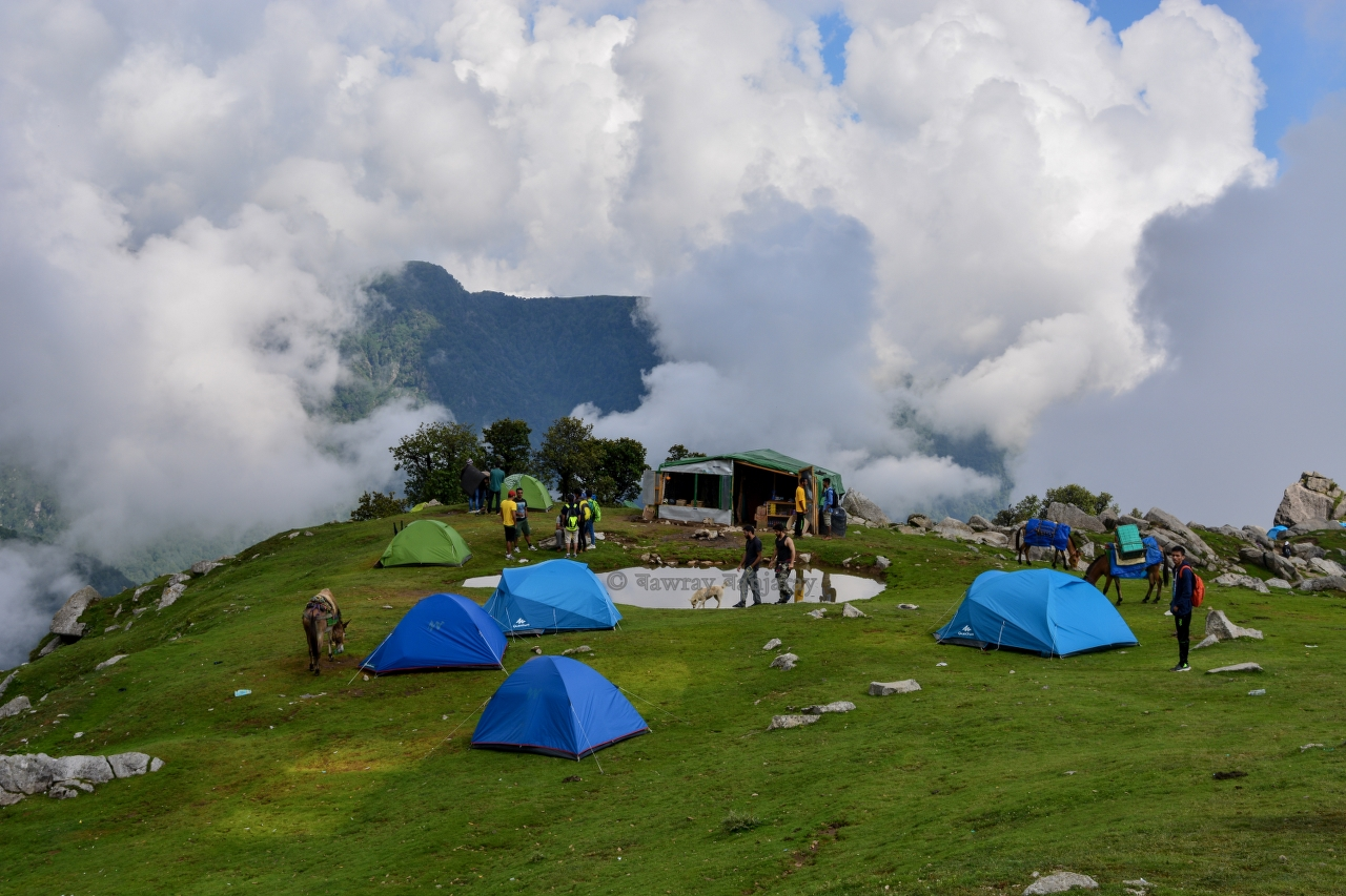 Bawray Banjaray at Triund Trek