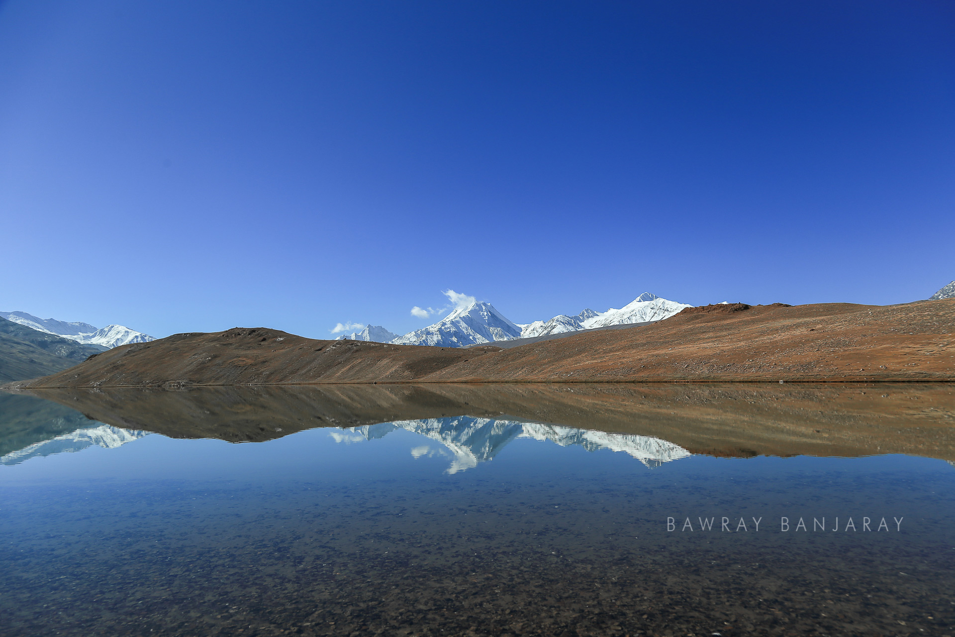 Chandra Taal is a crecent lake in Himachal Pradesh