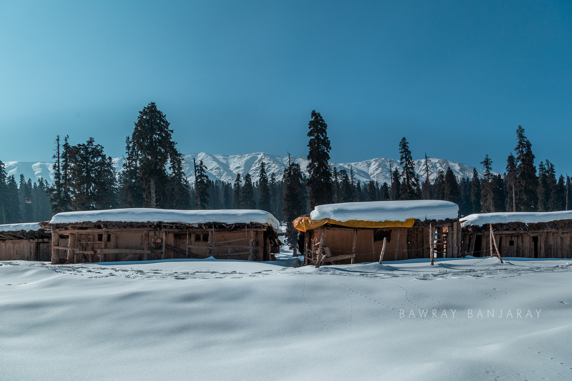 View from the Gulmarg top