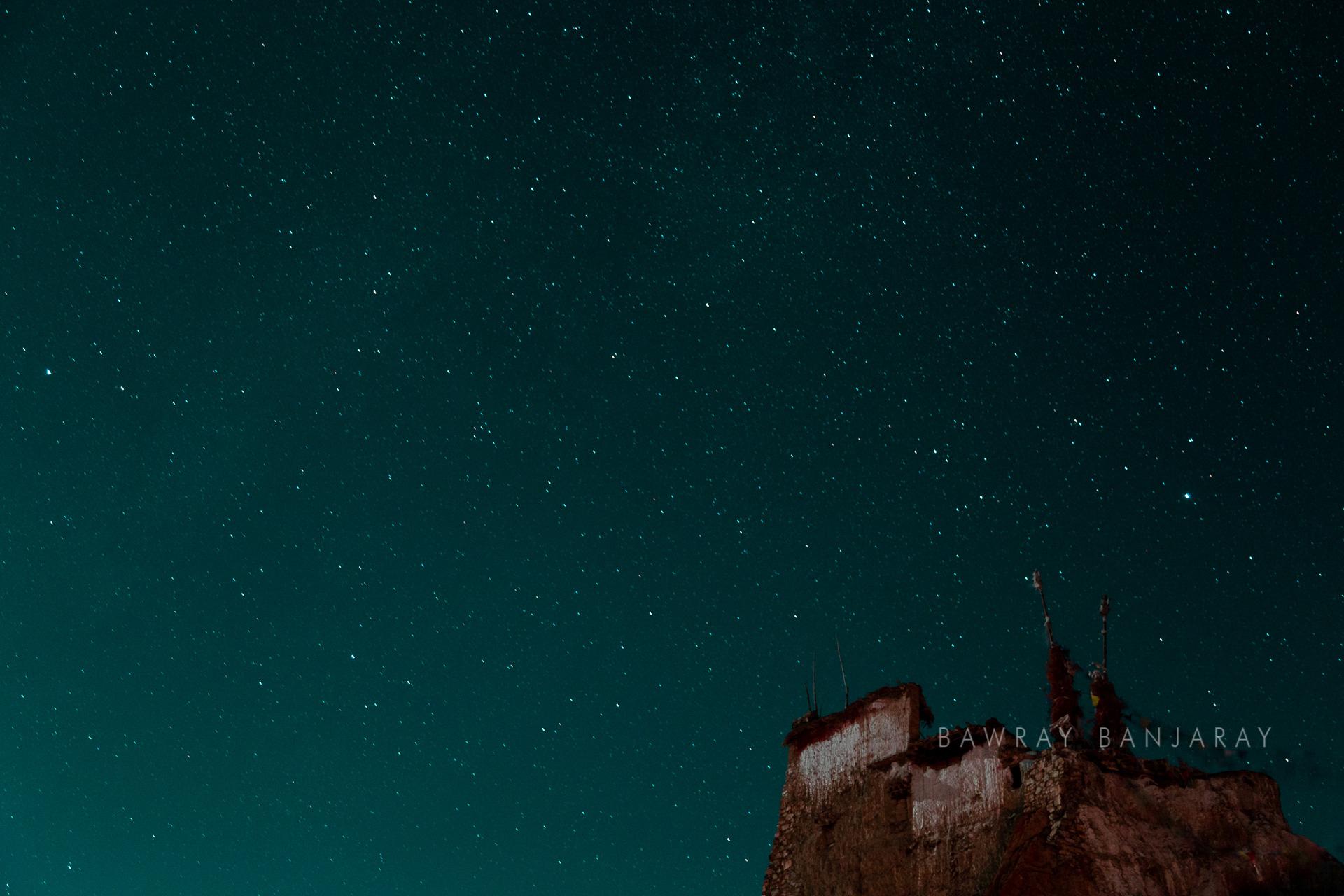 Stars in Spiti