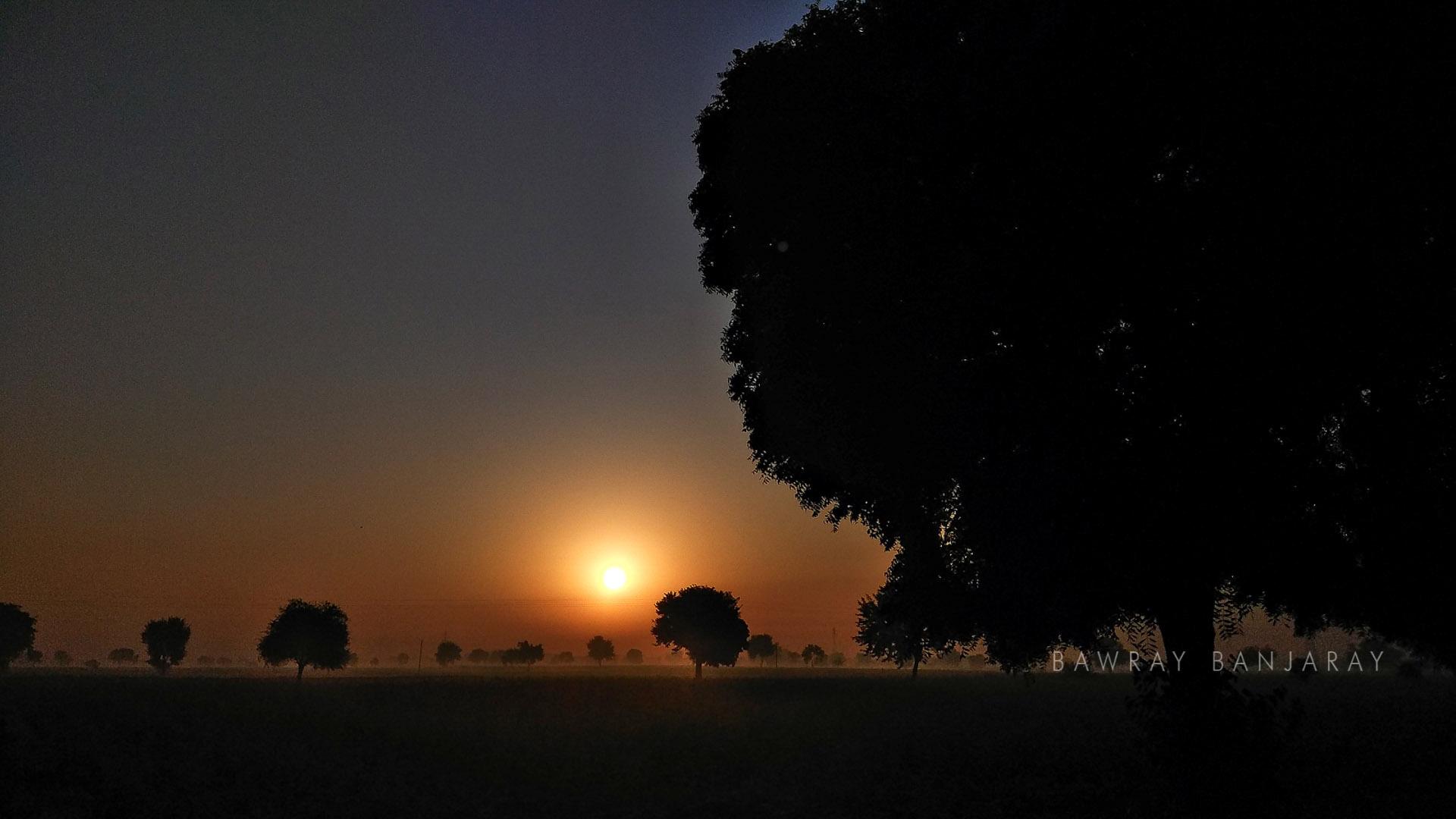 Sunset in Rewadi