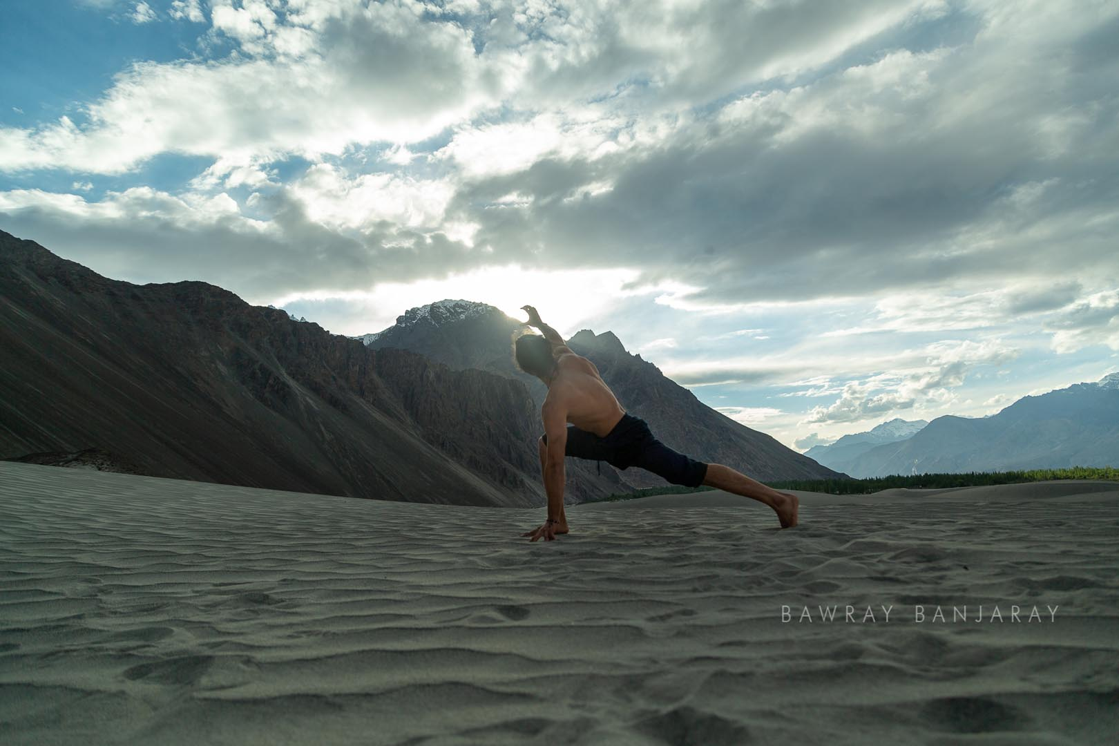 Jose on Le Ladakh Expedition in MOre Plains with Bawray Banjaray