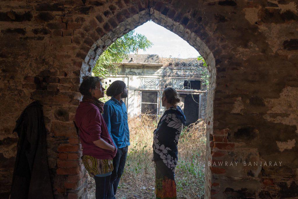 Joana and Magda In India
