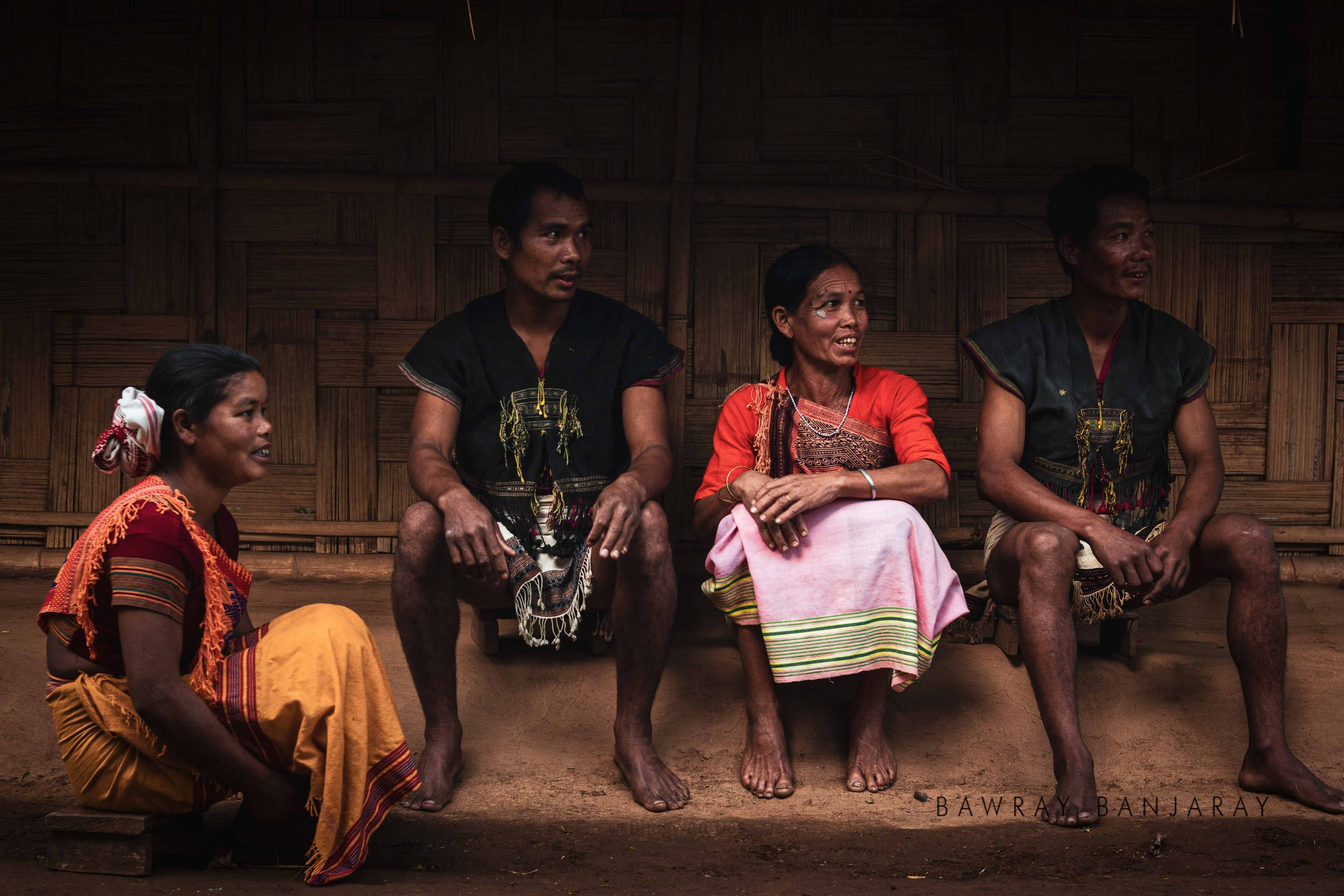 People of Umswai Village in Asam