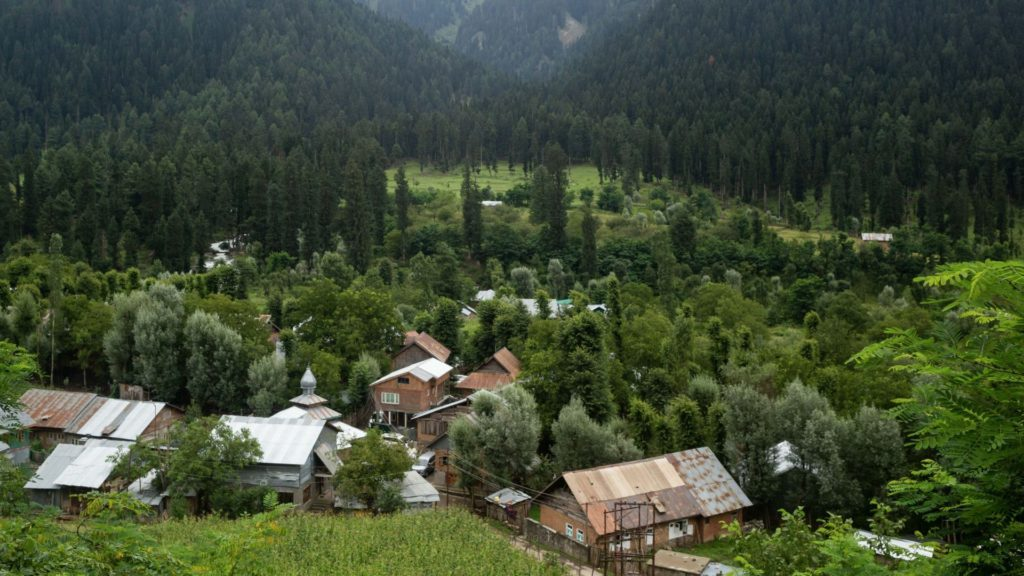 Pahalgam Town is one of the less visited places in Kashmir