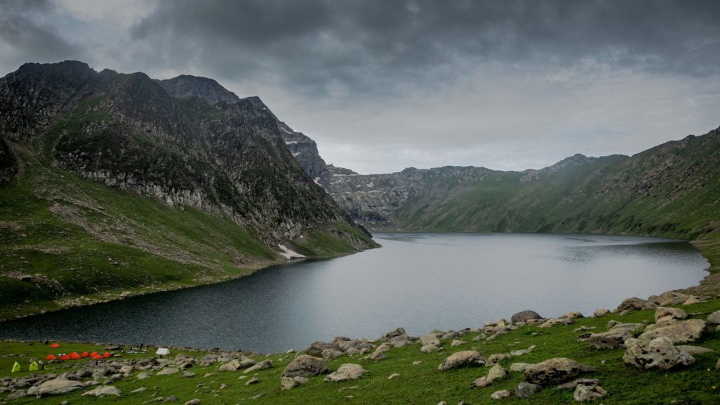 Tarsar Lake is one of the most popular high altitude lakes of Kashmir